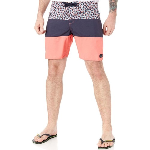 Clothing Men Shorts / Bermudas DC Shoes Dark Indigo Hot Blocked - 18 Inch Boardshorts Black