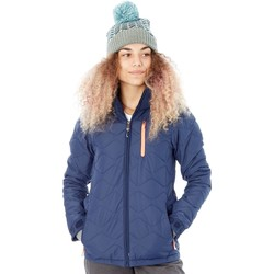 Clothing Women Duffel coats Protest Ground Blue FA17 Nocton Womens Snowboarding Jacket Blue