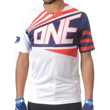 Clothing Men Short-sleeved t-shirts One Industries 2015 Ion 1 quarter Short Sleeved MTB Jersey White