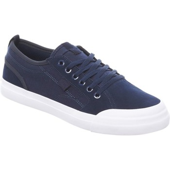 Shoes Men Low top trainers DC Shoes Evan Smith Navy Collaboration Kids Shoe Black