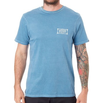 Clothing Men Short-sleeved t-shirts Vans Copen Blue Original Shaper T-Shirt Blue