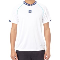 Clothing Men Short-sleeved t-shirts adidas Originals Athleisure Short Sleeved Jersey White