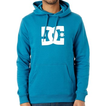 Clothing Men Sweaters DC Shoes Corsair Star Hoody Blue