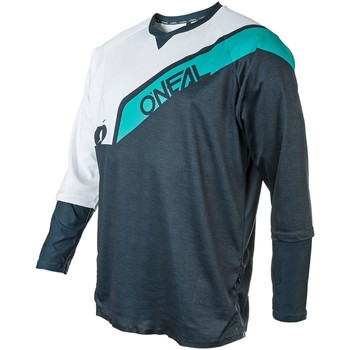 Clothing Men Long sleeved tee-shirts Oneal Blue-Teal 2019 Stormrider Long Sleeved MTB Jersey Blue