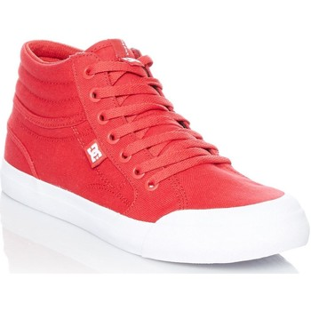 Shoes Boy Hi top trainers DC Shoes Evan Smith Red Signature Series TX Kids Hi Top Shoe Red