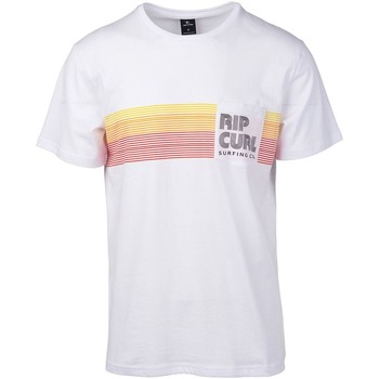 Clothing Men Short-sleeved t-shirts Rip Curl Optical White Close-Out T-Shirt - XS White