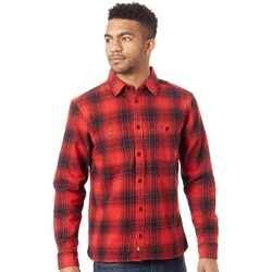 Clothing Men Long-sleeved shirts Element Miller Pompeian Red