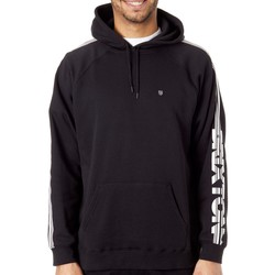 Clothing Men Sweaters Brixton Black Marathon Hoody Black