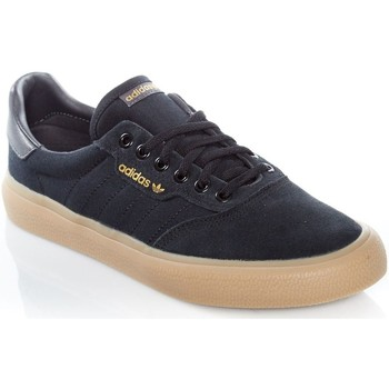 Shoes Men Low top trainers adidas Originals Core Black-Dgh Solid Grey-Gum4 3MC Suede Shoe Black