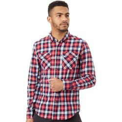 Clothing Men Long-sleeved shirts Alpinestars Red Build Long Sleeved Shirt Red