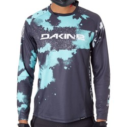 Clothing Men Long sleeved tee-shirts Dakine Electric Mint 2019 Thrillium Long Sleeved MTB Jersey Green