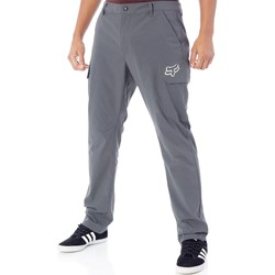 Clothing Men Cargo trousers Fox Charcoal Pit Slambozo Tech Cargo Pant Grey