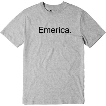Clothing Men Short-sleeved t-shirts Emerica Grey-Heather Pure Logo T-Shirt Grey