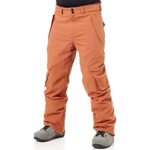 Clothing Men Cargo trousers Horsefeathers Copper FA18 Barge Snowboarding Pants Orange