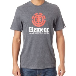 Clothing Men Short-sleeved t-shirts Element FA18 Vertical Charcoal Heather