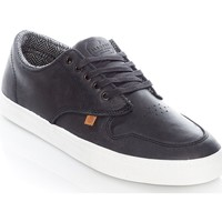Shoes Men Low top trainers Element Topaz C3 Black Premium Leather