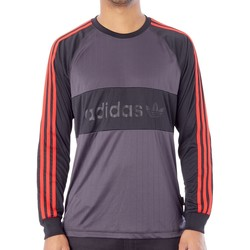 Clothing Men Long sleeved tee-shirts adidas Originals Goalie Long Sleeved T-Shirt Black