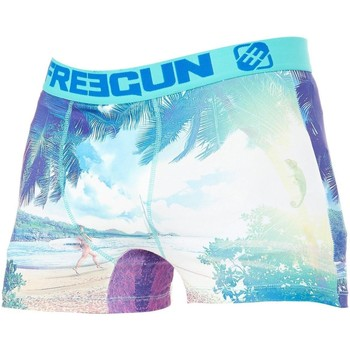 Underwear Men Boxer shorts Freegun Blue-Blue Ocean Boxer Shorts Blue