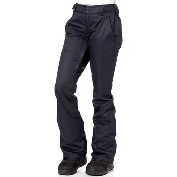 Clothing Women Trousers Oakley Moonshine BioZone - Insulated Womens Snowboarding Pants Black