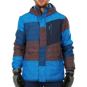 Clothing Men Parkas Protest Blue Gas Evershot Snowboarding Jacket Blue
