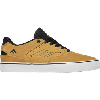 Shoes Men Low top trainers Emerica Yellow The Reynolds Low Vulc Shoe Yellow