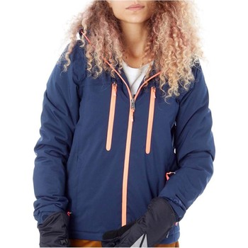 Clothing Women Jackets Protest Ground Blue FA17 Giggile Womens Snowboarding Jacket Blue