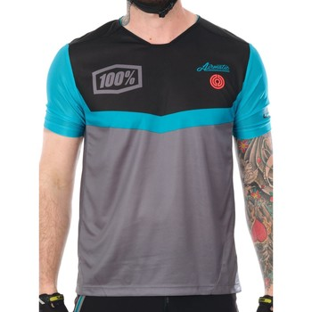 Clothing Men Short-sleeved t-shirts 100 Percent 2017 Airmatic Fast Times Short Sleeved MTB Jersey Grey