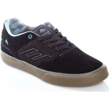 Shoes Men Low top trainers Emerica Black-Gum-Grey The Reynolds Low Vulc Shoe Black