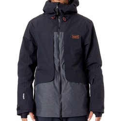 Clothing Men Parkas Planks Black Tracker - Insulated Ski Jacket Black