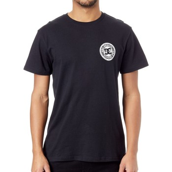 Clothing Men Short-sleeved t-shirts DC Shoes Black Circle Star FB 2 T-Shirt Black