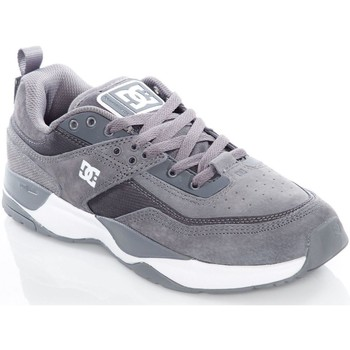Shoes Men Low top trainers DC Shoes Pewter E.Tribeka Shoe Grey