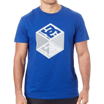 Clothing Men Short-sleeved t-shirts DC Shoes Sodalite Blue Volume T-Shirt Blue