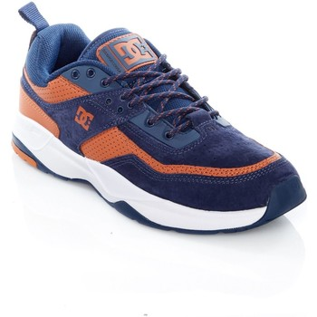 Shoes Men Low top trainers DC Shoes Navy-Camel E. Tribeka SE Shoe Black