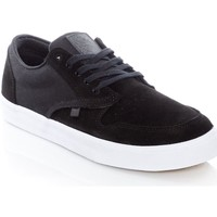 Shoes Men Low top trainers Element Topaz C3 Flint Black Suede