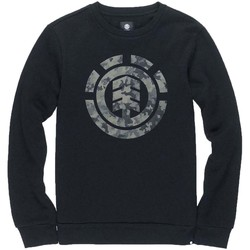 Clothing Men Sweaters Element Logo Crew Black