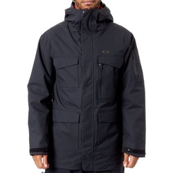 Clothing Men Parkas Oakley Blackout Snow Shell 15K 2 Layer Snowboarding Jacket Black