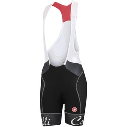 Clothing Women Shorts / Bermudas Castelli Black-Black 2018 Free Aero Womens Bib Shorts Black