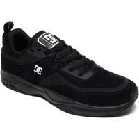 Shoes Men Low top trainers DC Shoes Black-Black-White E.Tribeka Shoe Black