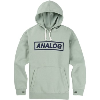 Clothing Men Sweaters Analog Aqua Grey Crux Snowboarding Hoody Blue