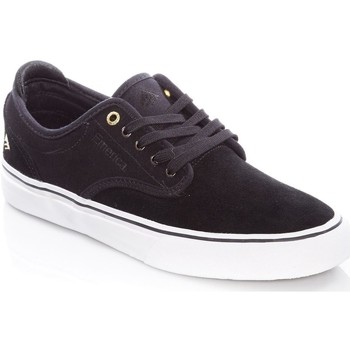 Shoes Men Low top trainers Emerica Black-White Wino G6 Shoe Black