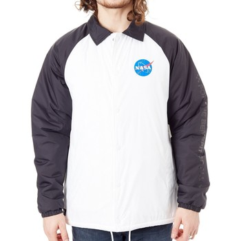 Clothing Men Jackets Vans Torrey Padded MTE - Nasa Collaboration Jacket White