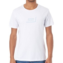 Clothing Men Short-sleeved t-shirts Rip Curl Optical White Daily T-Shirt White