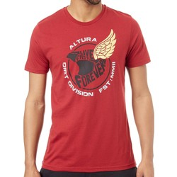 Clothing Men Short-sleeved t-shirts Altura Burgundy 2016 Icarus T-Shirt Red