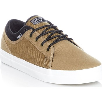 Shoes Men Low top trainers DVS Olive Black Twill Aversa Shoe Green