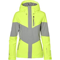 Clothing Women Jackets O'neill Pyranine Yellow Coral Womens Snowboarding Jacket Yellow