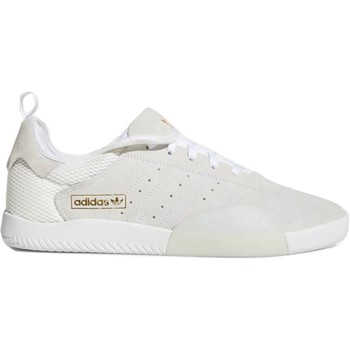 Shoes Men Low top trainers adidas Originals Footwear White-Blue Tint-Gold Metalic 3ST.003 Shoe White