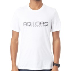 Clothing Men Short-sleeved t-shirts adidas Originals White-Black-Flash Lime Errtic T-Shirt White