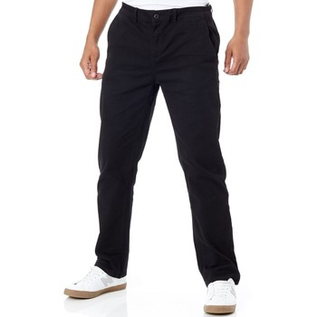 Clothing Men Chinos Etnies Black Essential Straight Chino Pant Black