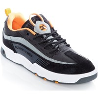 Shoes Men Low top trainers DC Shoes Black-Orange-Grey Legacy 98 Slim S Shoe Black