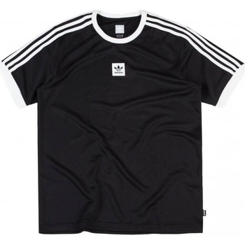 Clothing Men Short-sleeved t-shirts adidas Originals Black-White Club Short Sleeved Jersey Black